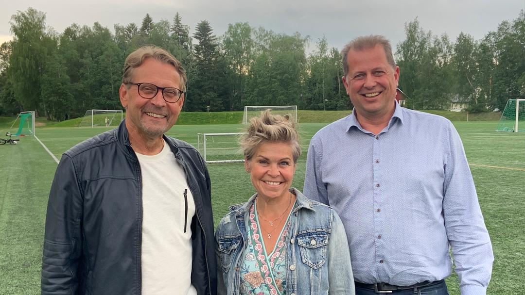 Björn Anderssén, Nina Bränkärr-Friberg och Kenneth Mörk.